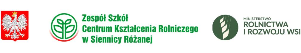 Zespół Szkół Centrum Kształcenia Rolniczego w Siennicy Różanej